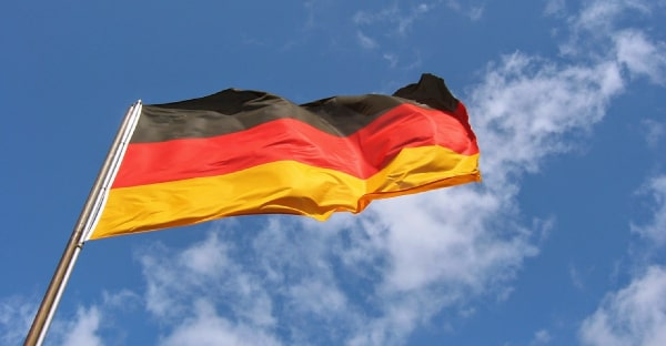 learning german flag